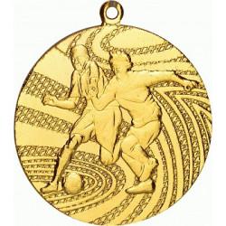 Medal stalowy złoty MMC1340
