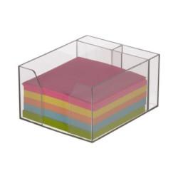 Kostka nieklejona kolorowa w pojemniku