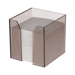 Kostka nieklejona biała w dużym pojemniku