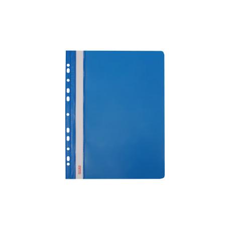 Skoroszyt twardy zawieszany niebieski (20 szt) Biurfol