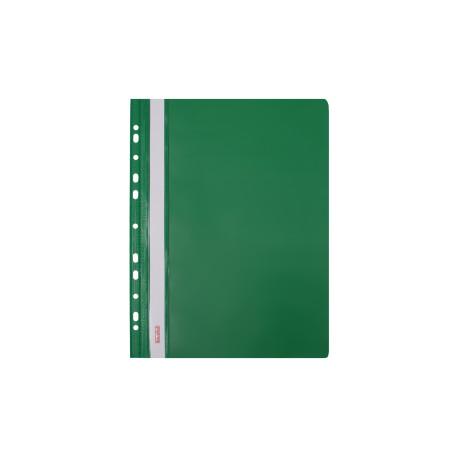 Skoroszyt twardy zawieszany zielony (20 szt) Biurfol