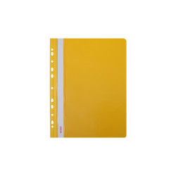 Skoroszyt twardy zawieszany żółty (20 szt) Biurfol
