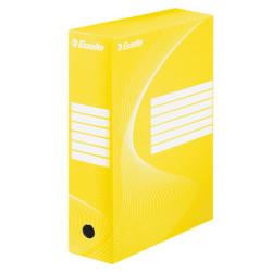 Pudło archiwizacyjne Standard Esselte żółte 100mm