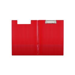Teczka z klipem PVC A4 Biurfol czerwona