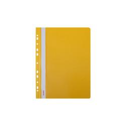 Skoroszyt twardy zawieszany żółty (10 szt) Biurfol
