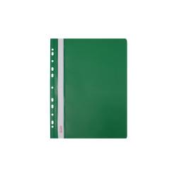 Skoroszyt twardy zawieszany zielony (10 szt) Biurfol