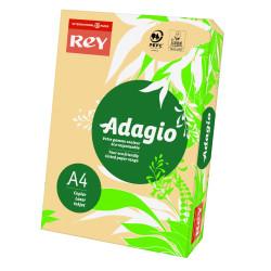 Papier ksero kolorowy Rey Adagio A4 80g/m2 Łososiowy