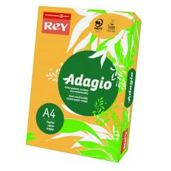 Papier ksero kolorowy Rey Adagio A4 80g/m2 Złoty