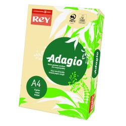 Papier ksero kolorowy Rey Adagio A4 80g/m2 Piaskowy