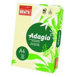 Papier ksero kolorowy Rey Adagio A4 80g/m2 Kość Słoniowa