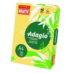 Papier ksero kolorowy Rey Adagio A4 80g/m2 Kremowy