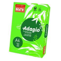 Papier ksero kolorowy Rey Adagio A4 80g/m2 Ciemnozielony