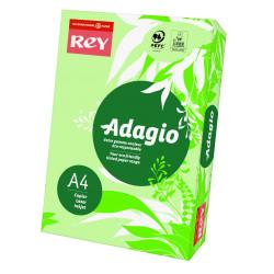 Papier ksero kolorowy Rey Adagio A4 80g/m2 Jasnozielony
