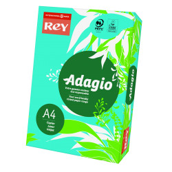 Papier ksero kolorowy Rey Adagio A4 80g/m2 Ciemnoniebieski