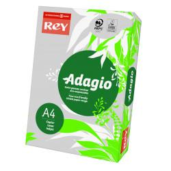 Papier ksero kolorowy Rey Adagio A4 80g/m2 Szary