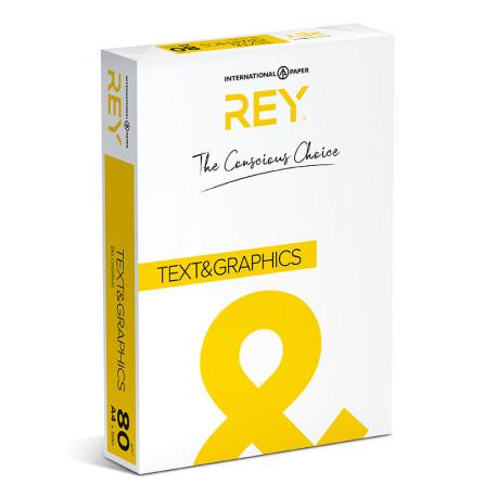 Papier Ksero Rey Text&Graphics A4 80g/m2
