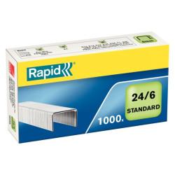 Zszywki RAPID Standard 24/6 1000 szt.