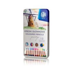 Kredki ołówkowe Prestige ASTRA 12 kolorów