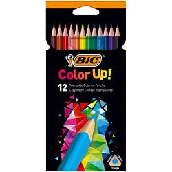 Kredki BIC COLOR UP ołówkowe 12 kolorów