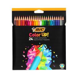 Kredki BIC COLOR UP ołówkowe 24 kolorów
