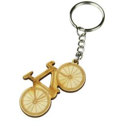 Brelok do kluczy rower Sklejka