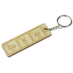 Brelok do kluczy CHEMIKA Sklejka