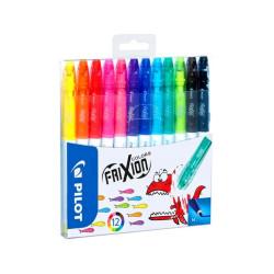 Mazaki Frixion Colors Set 12 sztuk PILOT