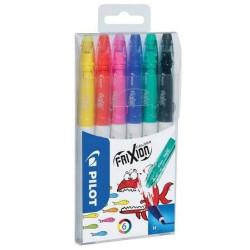 Mazak Frixion Colors Set 6 sztuk PILOT