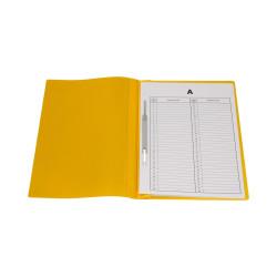 Skoroszyt do akt osobowych A4 żółty