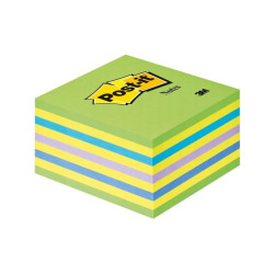 NOTES KOSTKA Post-it 76X76 Niebiesko-zielone 3M