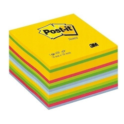 NOTES KOSTKA Post-it 76X76 akwarelowe 3M
