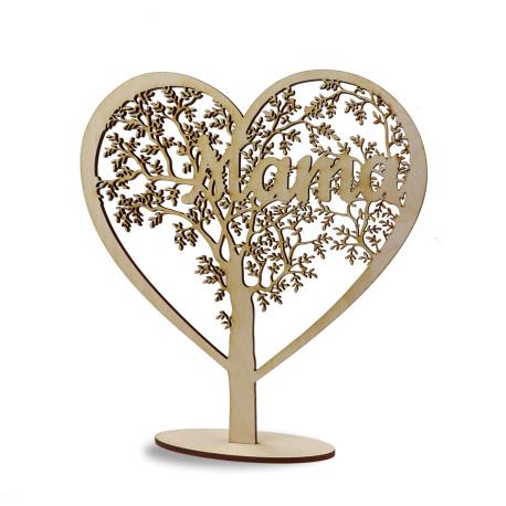Dzień Mamy matki Statuetka Drzewko Serce