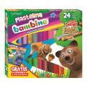 Plastelina Bambino 24 kolory