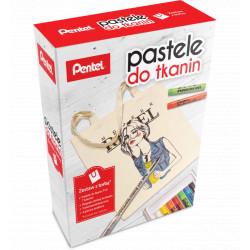 Zestaw pasteli do tkanin z torbą+GRATIS PASTELE 22