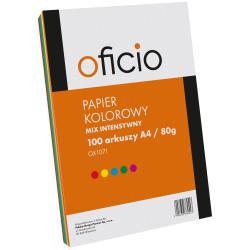 PAPIER KSERO MIX KOLORÓW intensywne OFICIO A4
