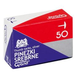 PINEZKI SREBRNE op. 50szt.