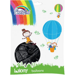 BALONY CZARNE 10