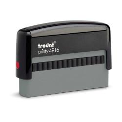 Pieczątka automatyczna Trodat Printy 4916 z Gumką Laserową