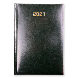 KALENDARZ KSIĄŻKOWY A5 2021 DZIENNY BALADEK ZIELONY
