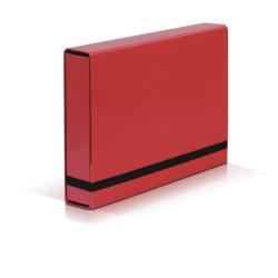 TECZKA A4 BOX CARIBIC VAUPE 341 CZERWONA