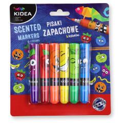 PISAKI ZAPACHOWE 6 kolorów KIDEA
