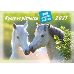 Konie kalendarzy rodzinny 2021