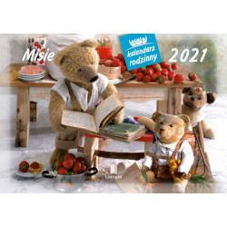 MISIE kalendarzy rodzinny 2021