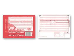 Polecenie przelewu 4-odcinkowe WP-4