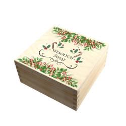 Pudełko Świąteczne Z INDYWIDUALNYM NADRUKIEM