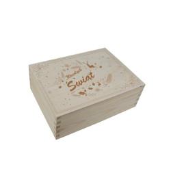 Pudełko Świąteczne z nadrukiem