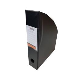 Pojemnik na czasopisma PVC A4 mm Oficio czarny
