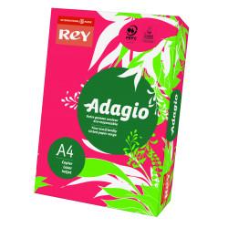 Papier ksero kolorowy Rey Adagio A4 80g/m2 Czerwony