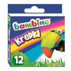 Kredki świecowe Bambino 12 kolorów
