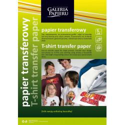 PAPIER A4 TRANSFEROWY DO TKANINCIEMNYCH